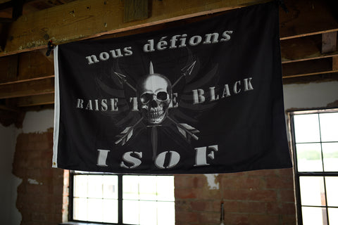 RTB Isof Flag - Misery Incorporated - Raise The Black