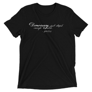American Democracy Short sleeve t-shirt