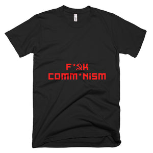 F Comm*nism Short-Sleeve T-Shirt - Black - MiseryIncorporated