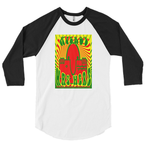 KILROY WAS HERE - VIETNAM ADDITION - 3/4 sleeve raglan shirt