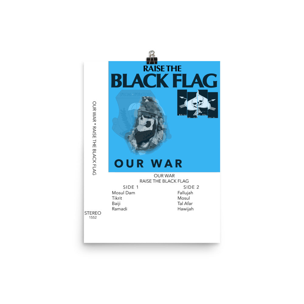 Our War Photo Paper Poster 12x16