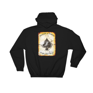 "MiseryIncorporated / RTB Joint ""Rest In Misery"" Death Card Hoodie"
