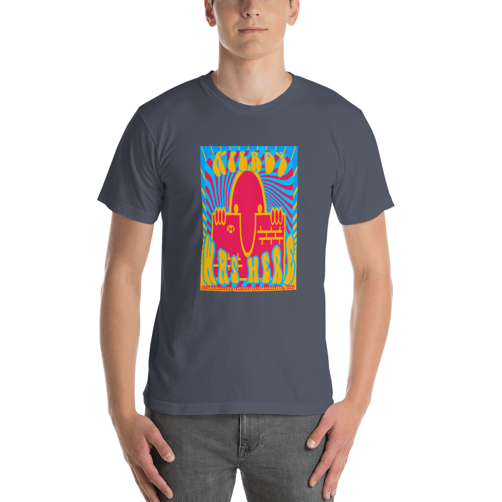 KILROY WAS HERE - AFGHANISTAN ADDITION - Men's Short Sleeve T-Shirt
