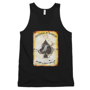 "MiseryIncorporated / RTB Joint ""Rest In Misery"" Death Card Unisex Tank"