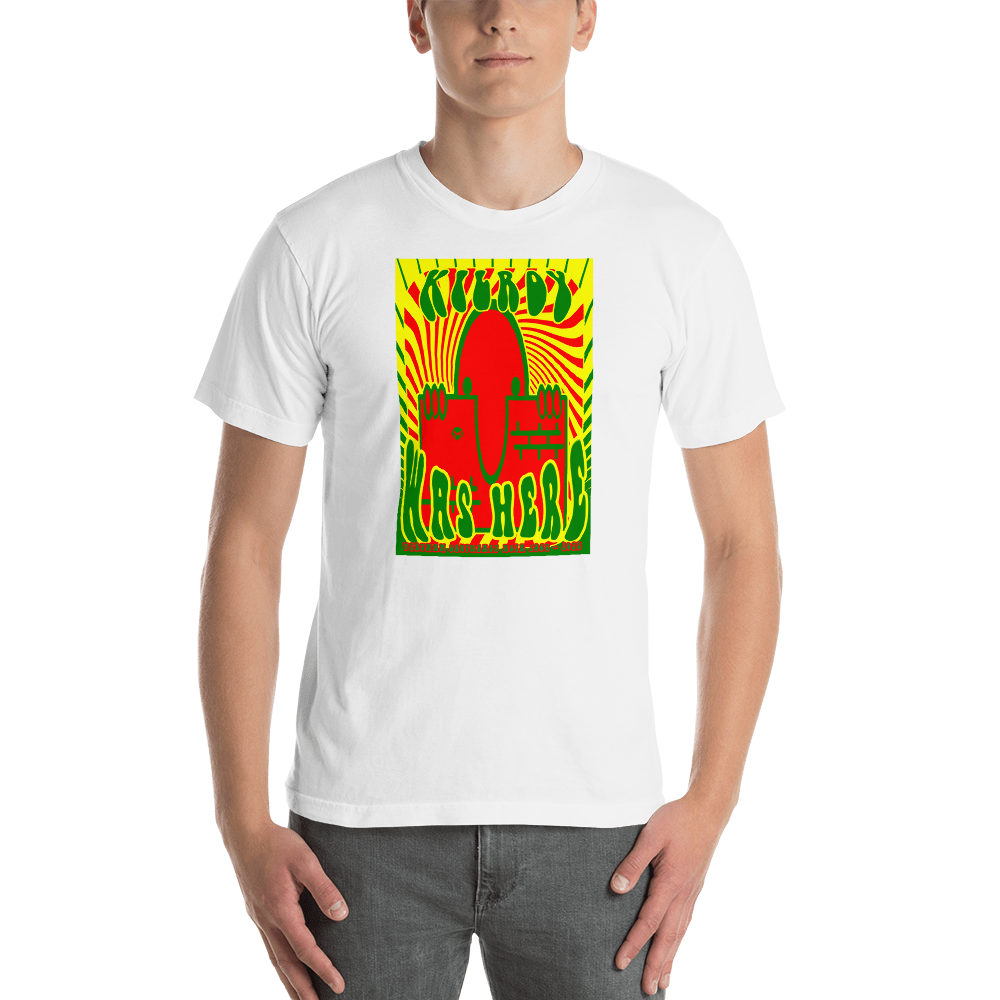 KILROY WAS HERE - VIETNAM ADDITION -  Men's Short Sleeve T-Shirt