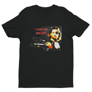 I Heard You Were Dead Short Sleeve T-shirt - Black - MiseryIncorporated
