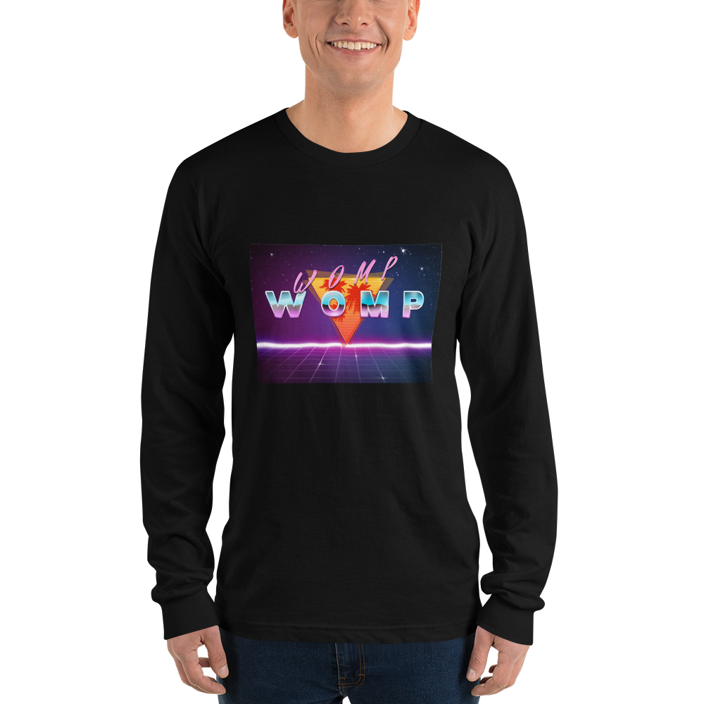 WOMP WOMP Long sleeve t-shirt (unisex)