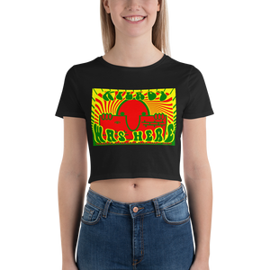 KILROY WAS HERE - VIETNAM ADDITION - Women's Crop Tee