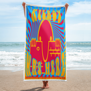 KILROY WAS HERE - AFGHANISTAN ADDITION Towel