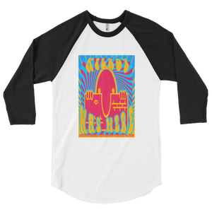 KILROY WAS HERE - AFGHANISTAN ADDITION -3/4 sleeve raglan shirt