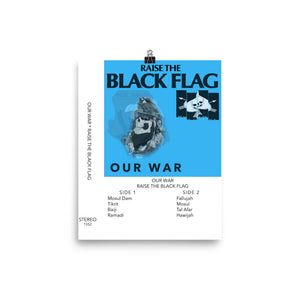 Our War Photo Paper Poster 8x10