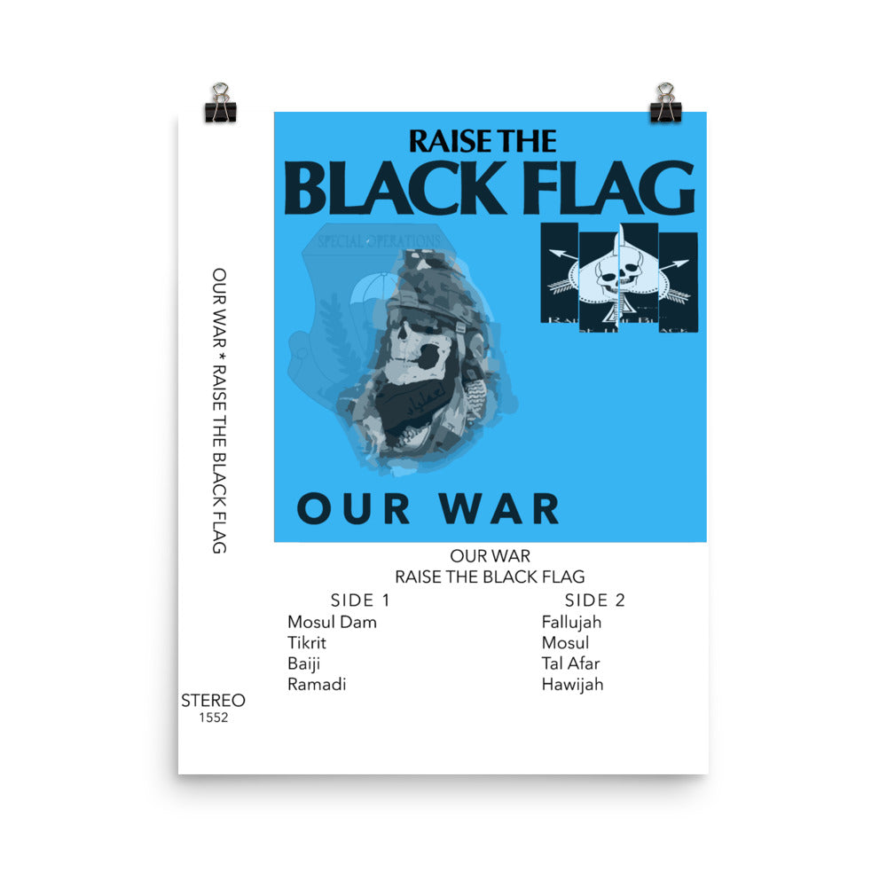 Our War Photo Paper Poster 16x20