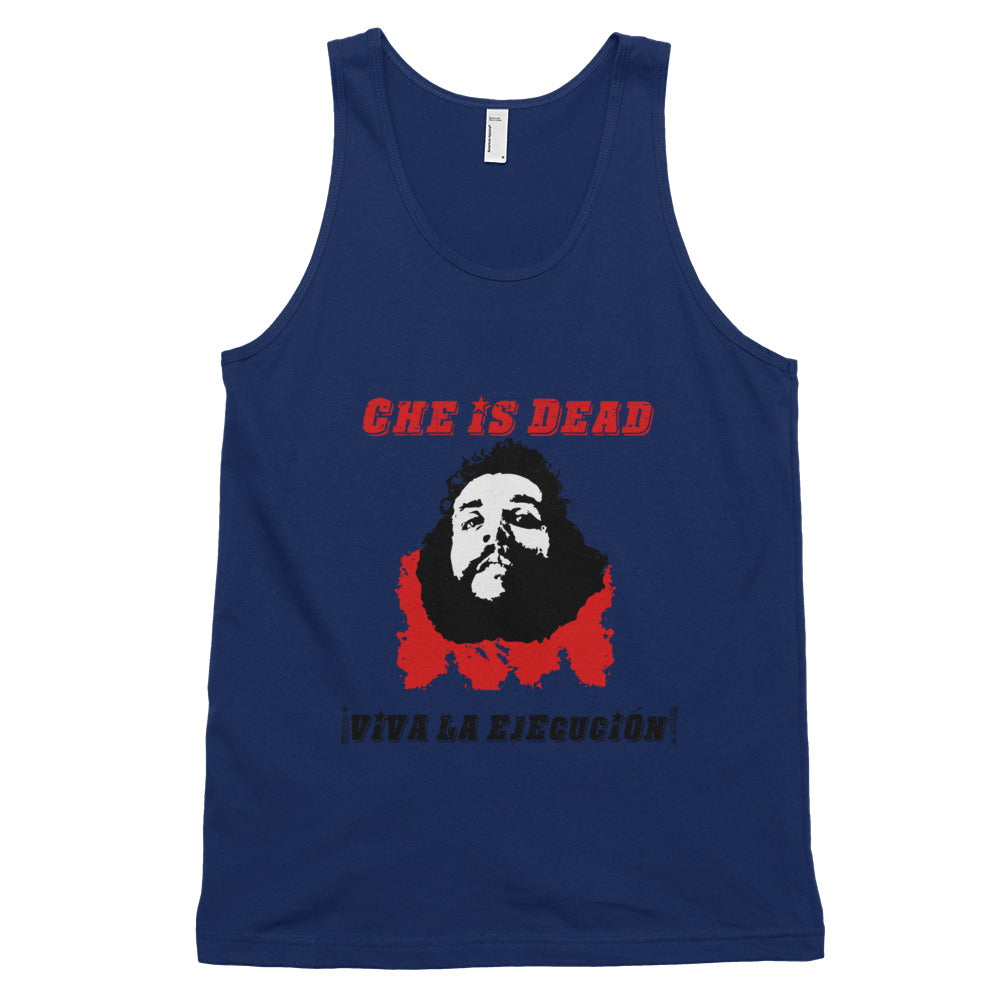 Che's Demise tank top (unisex) - Blue - MiseryIncorporated