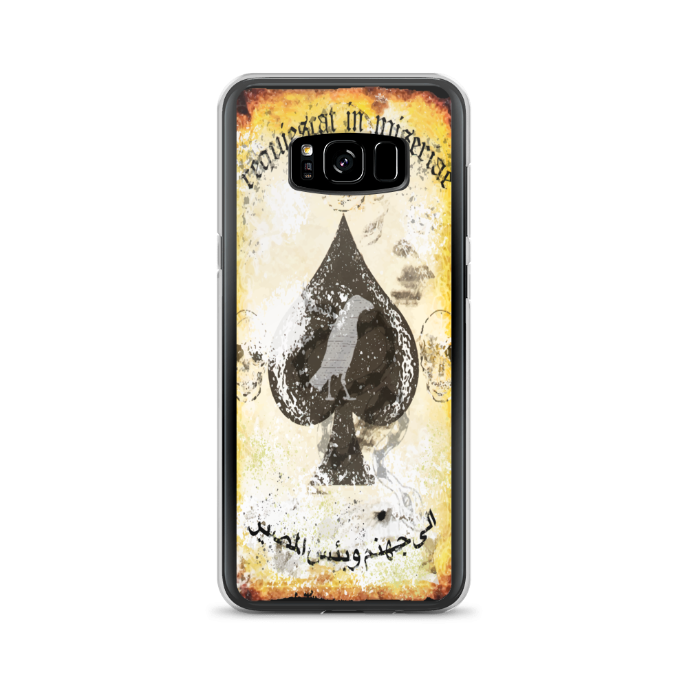 "Misery Incorporated / Raise The Black Joint ""Rest In Misery"" Death Card Samsung Case"