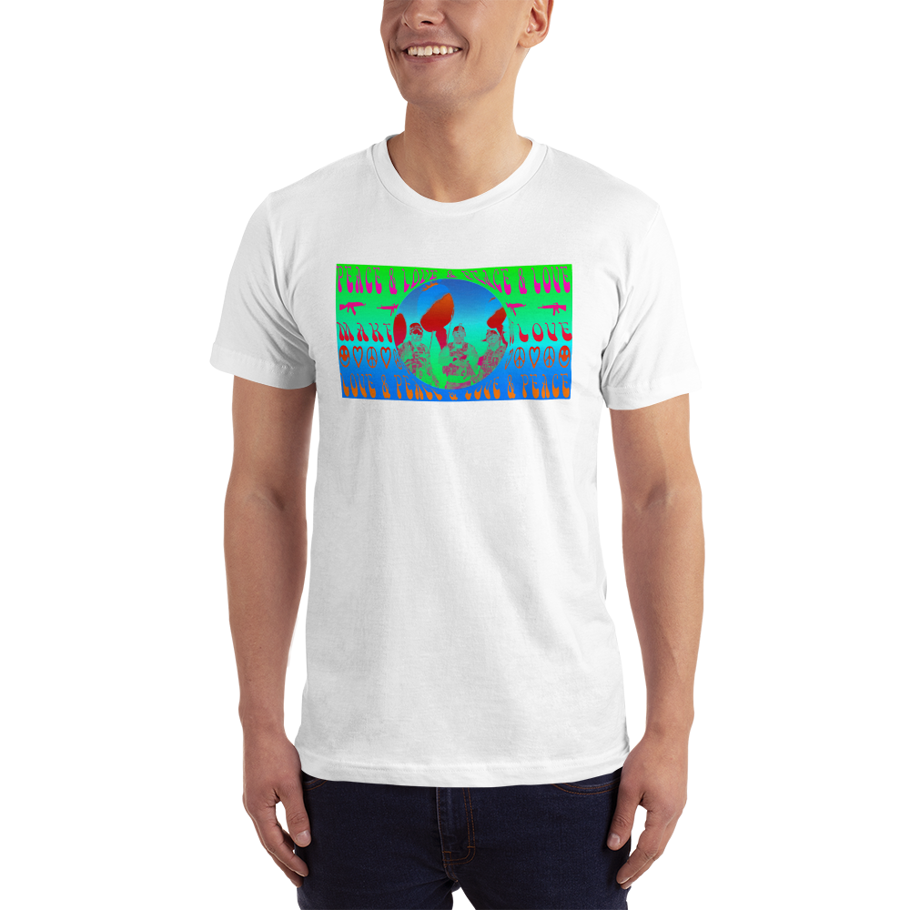 Peace, Poppies, & Prosperity :: Short-Sleeve T-Shirt :: GB