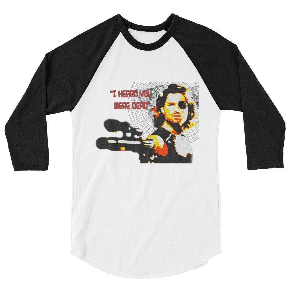 I Heard You Were Dead Classic Baseball - White/Black - MiseryIncorporated