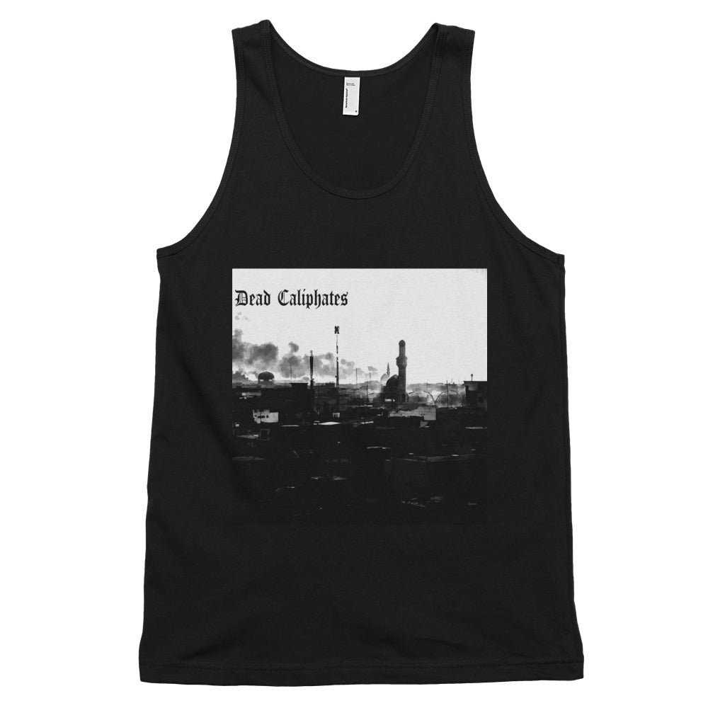 Dead Caliphates' Classic tank top (unisex) - Black - MiseryIncorporated
