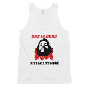 Che's Demise tank top (unisex) - White - MiseryIncorporated