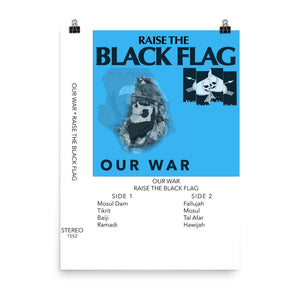 Our War Photo Paper Poster 18x24