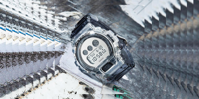 "【NEW ARRIVAL】G-SHOCK ""CLEAR SKELETON"" SERIES"