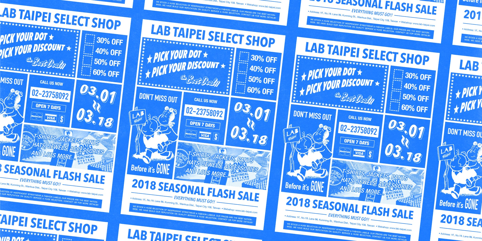 LAB TAIPEI 2018 SEASONAL FLASH SALE