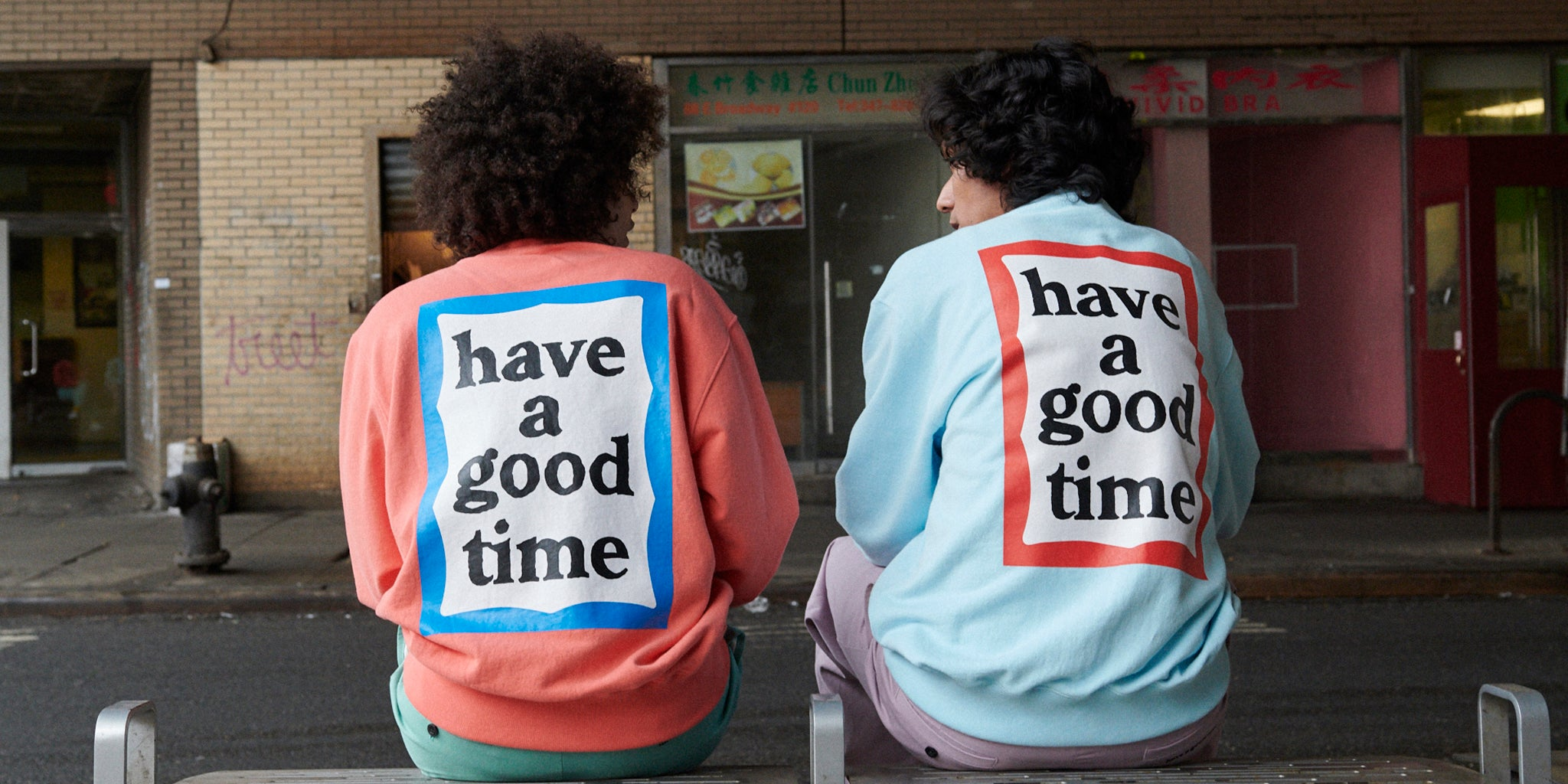 【NEW ARRIVAL】have a good time