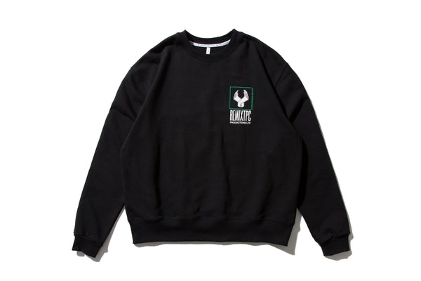 "REMIX ""H.T.L.L. REVERSIBLE CREWNECK"" (Black)"