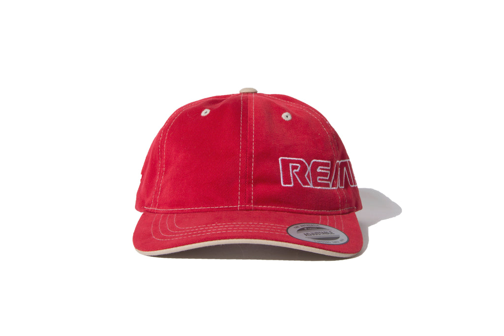 "REMIX ""REMIX CONTRAST STITCH CAP""(Red)"