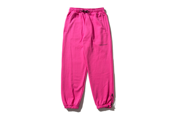 "REMIX ""DIVISION SWEAT PANTS"" (Pink)"