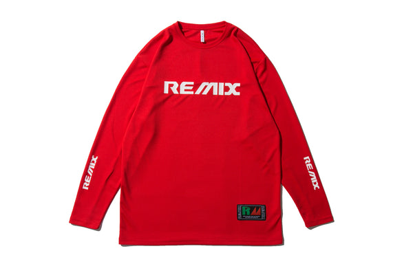 "REMIX ""ENGINEERING TECH L/S TEE"" (Red)"