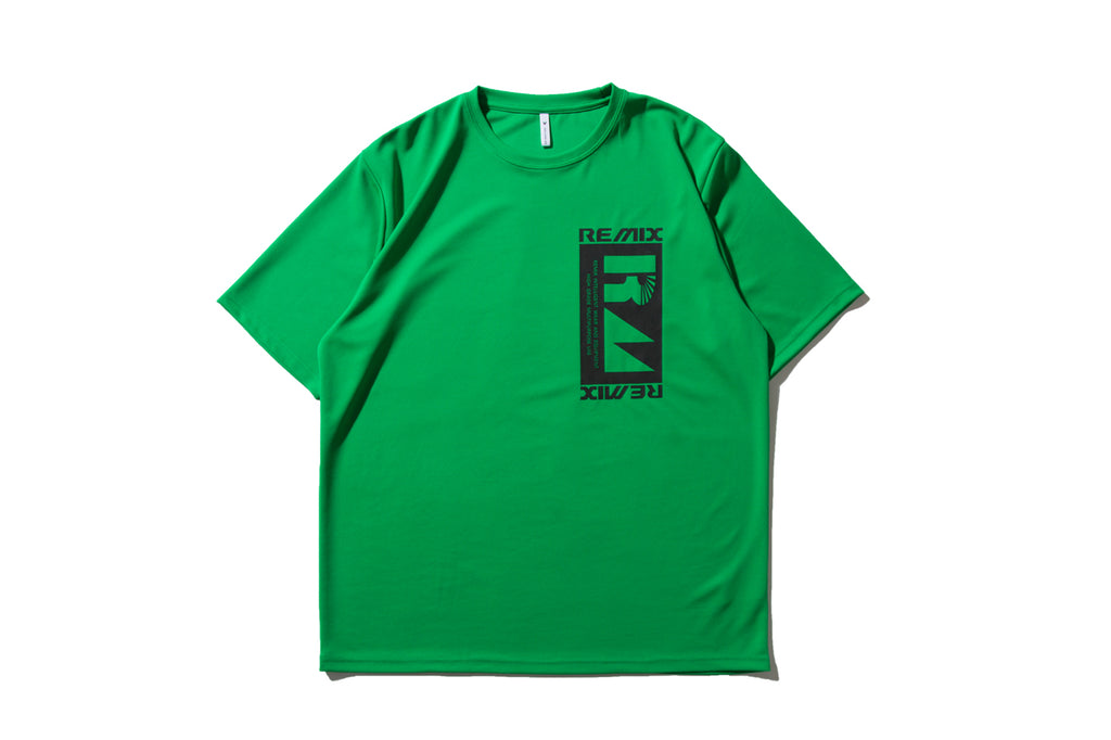 "REMIX ""ENGINEERING TECH TEE"" (Green)"