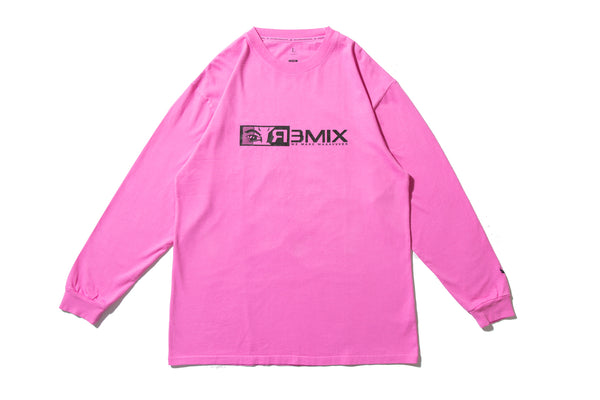 "REMIX ""R3MIX L-S TEE"" (Pink)"