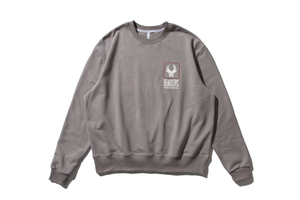 "REMIX ""H.T.L.L. REVERSIBLE CREWNECK"" (Grey)"