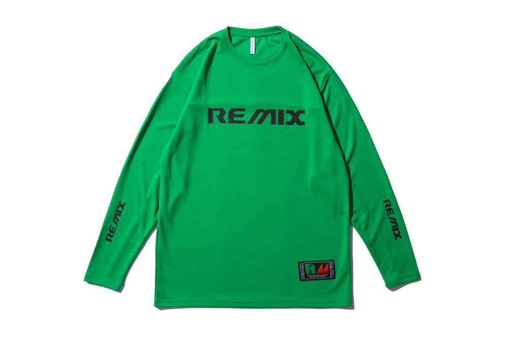 "REMIX ""ENGINEERING TECH L/S TEE"" (Green)"