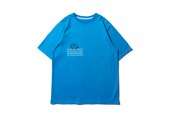 "REMIX ""REMIX INSIDE TEE""(Blue)"