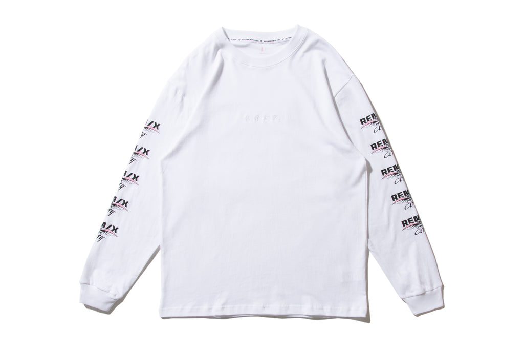 "REMIX ""TPE CITY L/S TEE"" (White)"
