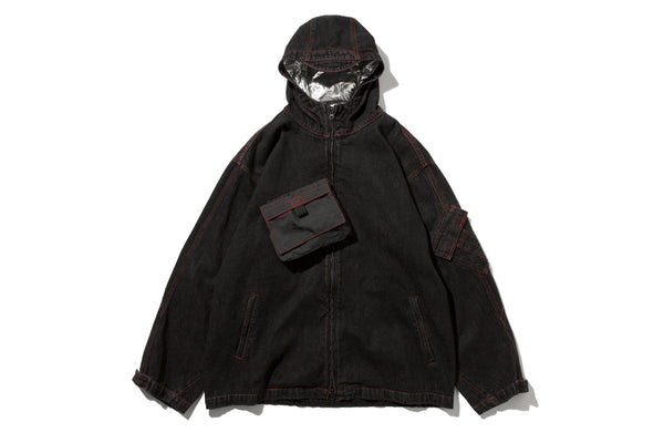 "4DIMENSION x DeMarcoLab ""4DMLAB DENIM JKT"" (Black)"