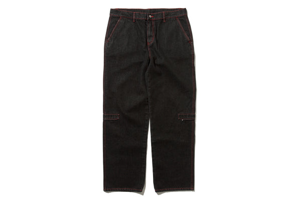 "4DIMENSION x DeMarcoLab ""4DMLAB DENIM PANT"" (Black)"