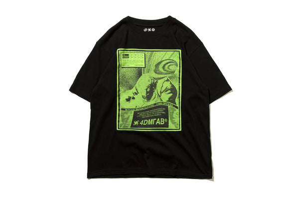 "4DIMENSION x DeMarcoLab ""4DMLAB CO. TEE"" (Black)"