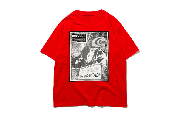 "4DIMENSION x DeMarcoLab ""4DMLAB CO. TEE"" (Red)"