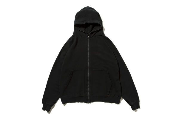 "4DIMENSION x DeMarcoLab ""4DMLAB CO. ZIP PARKA"" (Black)"