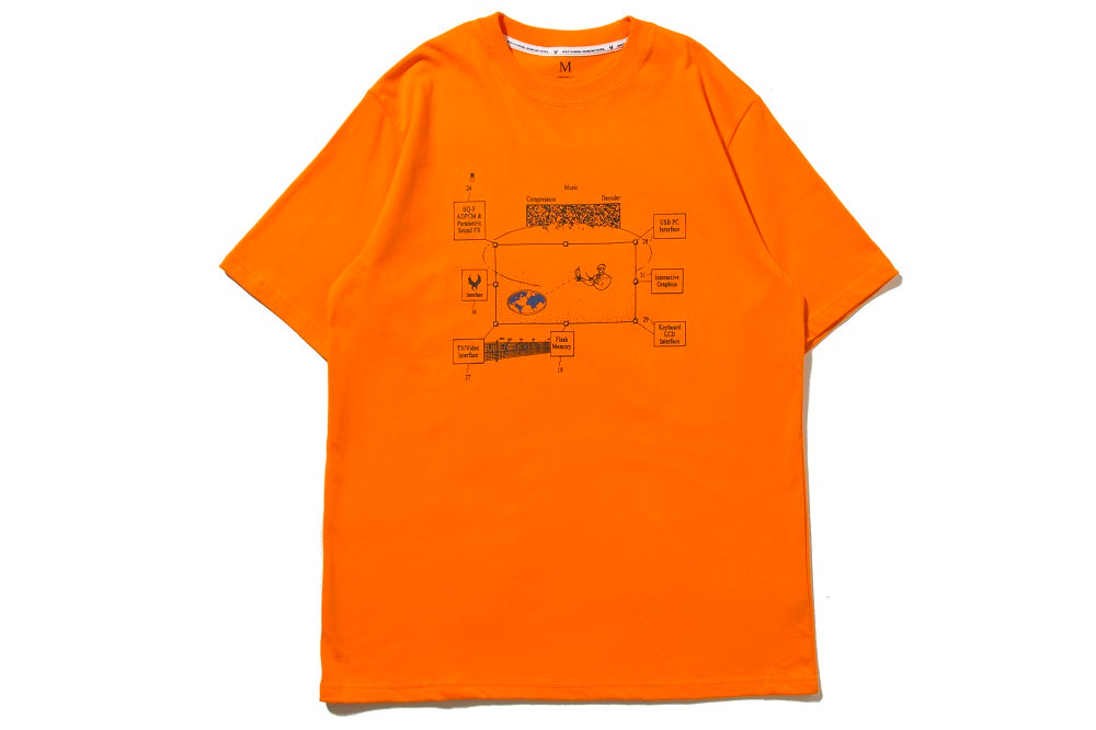 "REMIX ""MCD TEE"" (Orange)"
