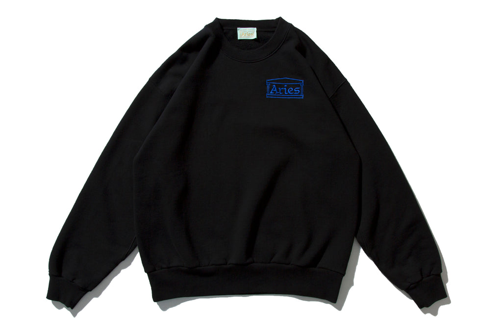 "ARIES ""ARIES BASIC SWEATER"" (Black)"