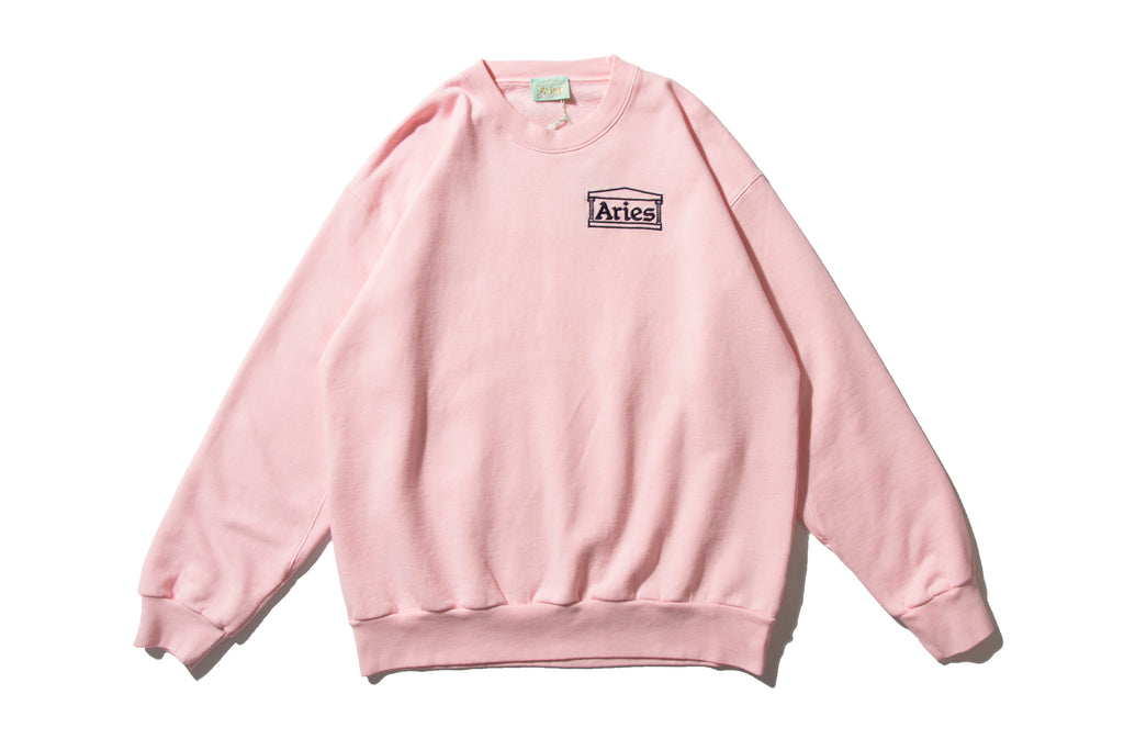 "ARIES ""ARIES BASIC SWEATER"" (Pink)"