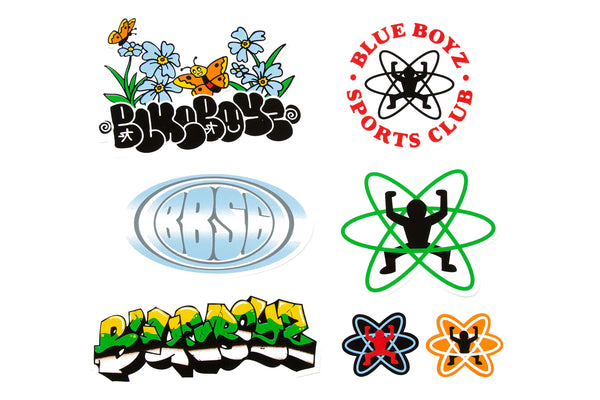 "BLUE BOYZ SPORTS CLUB ""0.3 STICKER PACK"""