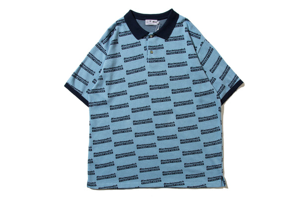"BlackEyePatch ""REPEATED KNIT POLO"""