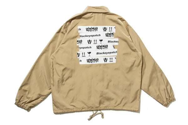 "BlackEyePatch ""HANDLE WITH CARE COACH JAKET"""