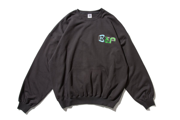 "BlackEyePatch ""BEP CREWNECK"" (Charcoal)"