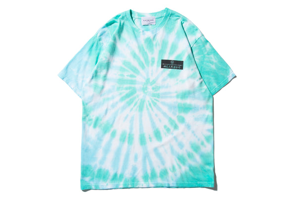 "BLACK WEIRDOS ""FREEDOM TIEDYE TEE"" (Blue)"