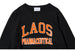 "BLACK WEIRDOS ""LAOS COLLEGE SWEAT"" (Black)"